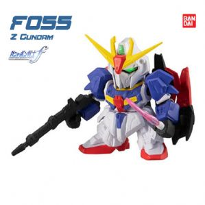 Gd Gashapon Senshi Forte #2.5 - โมเดลกันดั้ม เซนชิ ฟอร์เต้ - Z Gundam